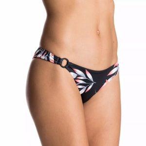 NWT Roxy Blowing Mind 70s Bikini Bottom